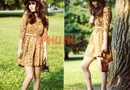 Mặc váy mùa thu thật đẹp và điệu