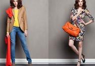 Phối màu rực rỡ cho thời trang thu đông 2011