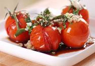 Lôi cuốn với cà chua trộn xì dầu tỏi