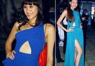 Sao Việt độc chiêu với váy... hở bụng