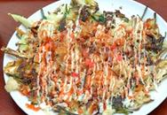 Bánh xèo hải sản phố Trấn Vũ