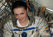 Nữ phi hành gia xinh đẹp đầu tiên của Nga lên ISS