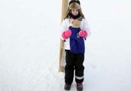Đường tới Bắc cực của cô bé... 8 tuổi