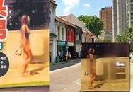 Thiếu nữ bán nude đuổi trộm