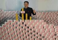 Cận cảnh núi tiền 1,5 tấn của tỉ phú Trung Quốc