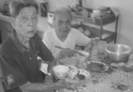 Hai ông bà cụ 91 tuổi toại nguyện kết hôn