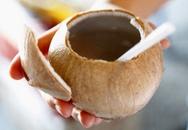 """Bà bầu """"béo ú"""" tại nước dừa"""