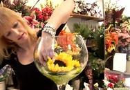 Cách cắm hoa hướng dương tuyệt đẹp