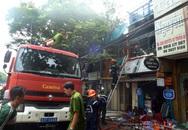 Cháy nhà 3 tầng ở trung tâm TP HCM
