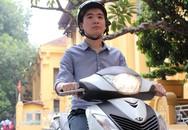 Con trai bầu Hiển: 'Thiếu gia nghìn tỷ' đi xe máy
