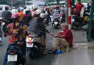 Ăn xin kiểu Tây ở trung tâm Sài Gòn