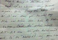 Xuất hiện bức thư lạ hiến kế tìm thi thể nạn nhân vụ Cát Tường