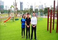 Sân chơi ngoài trời: Giúp trẻ phát triển toàn diện