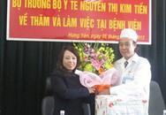 Bộ trưởng Y tế thăm và làm việc tại Hưng Yên: Tăng cường nguồn nhân lực y tế