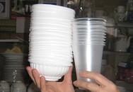 Cốc, đĩa, bát giấy: Chỉ đựng đồ nóng ở ngưỡng 40oC