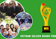 """Lần đầu tiên tổ chức giải thưởng """"Thương hiệu vàng Thực phẩm Việt Nam"""""""