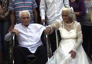 Cụ ông 103 tuổi tổ chức lễ cưới với cụ bà 99 tuổi sau 80 năm chung sống