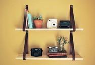 Tự làm kệ treo tường đơn giản nhiều tiện ích