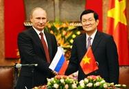 Việt-Nga ký hợp tác dầu khí, quốc phòng