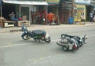 Nam thanh niên vỡ toác đầu sau cú tông xe máy ở Sài Gòn