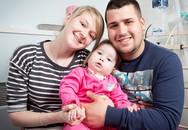Bé gái sơ sinh mắc bệnh kỳ lạ không thể khóc