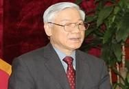 Tổng Bí thư điện đàm cùng Chủ tịch Trung Quốc