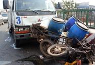 5 xe tông nhau, một người nguy kịch