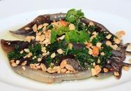 Đậm đà cá lồi xối mỡ cuốn bánh tráng