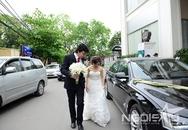 Vợ chồng giáo sư Xoay hạnh phúc trong lễ cưới
