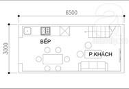 Thiết kế nhà 19 m² cho 5 người