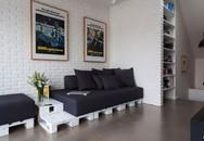 Ngắm căn hộ hiện đại với gam màu đen trắng