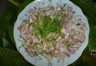 Thơm lừng thịt nướng lá chanh