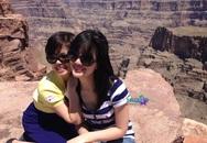Vợ chồng Chí Trung qua Mỹ thăm con gái
