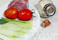 Bún thịt nấu chua cho bữa sáng