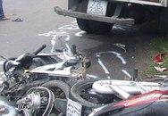 Xe đông lạnh tông 2 xe máy, 6 người chết