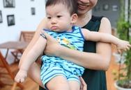 Cẩm Tú bất ngờ khoe con trai 9 tháng tuổi