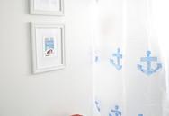 Mẹo làm mới phòng tắm với rèm che độc đáo