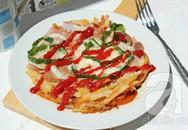 Làm pizza ngon từ khoai tây không cần lò nướng