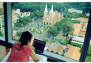 Nhà trên cao tuyệt đẹp của sao Việt