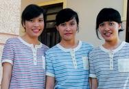 Chị em sinh ba cùng đậu đại học top đầu