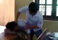 Nam sinh đánh nữ sinh dã man ngay trong lớp học
