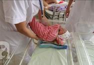 """""""Đột nhập"""" phòng tắm bé sơ sinh ở khoa Việt Nhật - viện Bạch Mai"""
