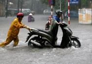 Hà Nội còn mưa to hết ngày mai