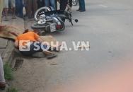 Người vợ ngất lịm bên thi thể chồng gặp tai nạn