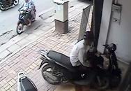 Kẻ trộm xe SH dọa đánh người truy đuổi