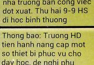 Hà Nội: Hoang mang vì hàng trăm học sinh bất ngờ nghỉ học