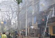 Cháy dữ dội tại Khu tập thể Thanh Xuân Bắc