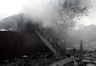 Trẻ em kêu khóc trong đám cháy khu ổ chuột giữa thủ đô