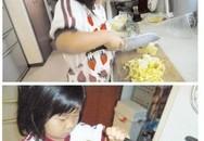 Rớt nước mắt bé 5 tuổi tự nấu ăn vì mất mẹ
