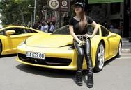 Bà chủ 8x mở quán café, chơi siêu xe Ferrari